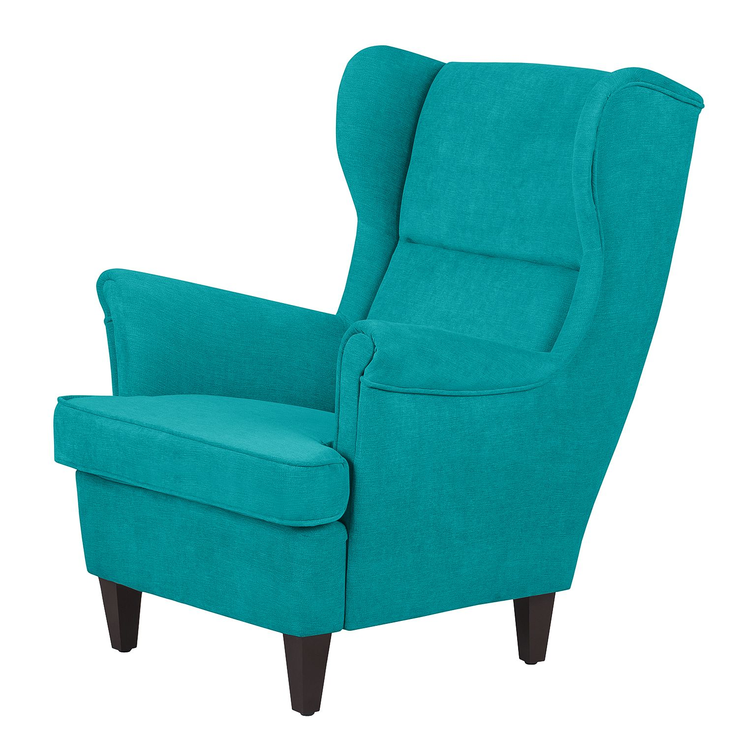 Fauteuil Roma - Microfibre - Turquoise, Jack and Alice
