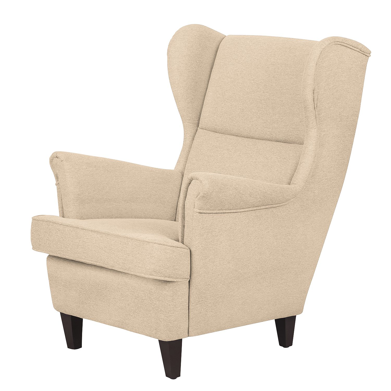 Fauteuil Roma - Tissu - Beige chaud, Jack and Alice