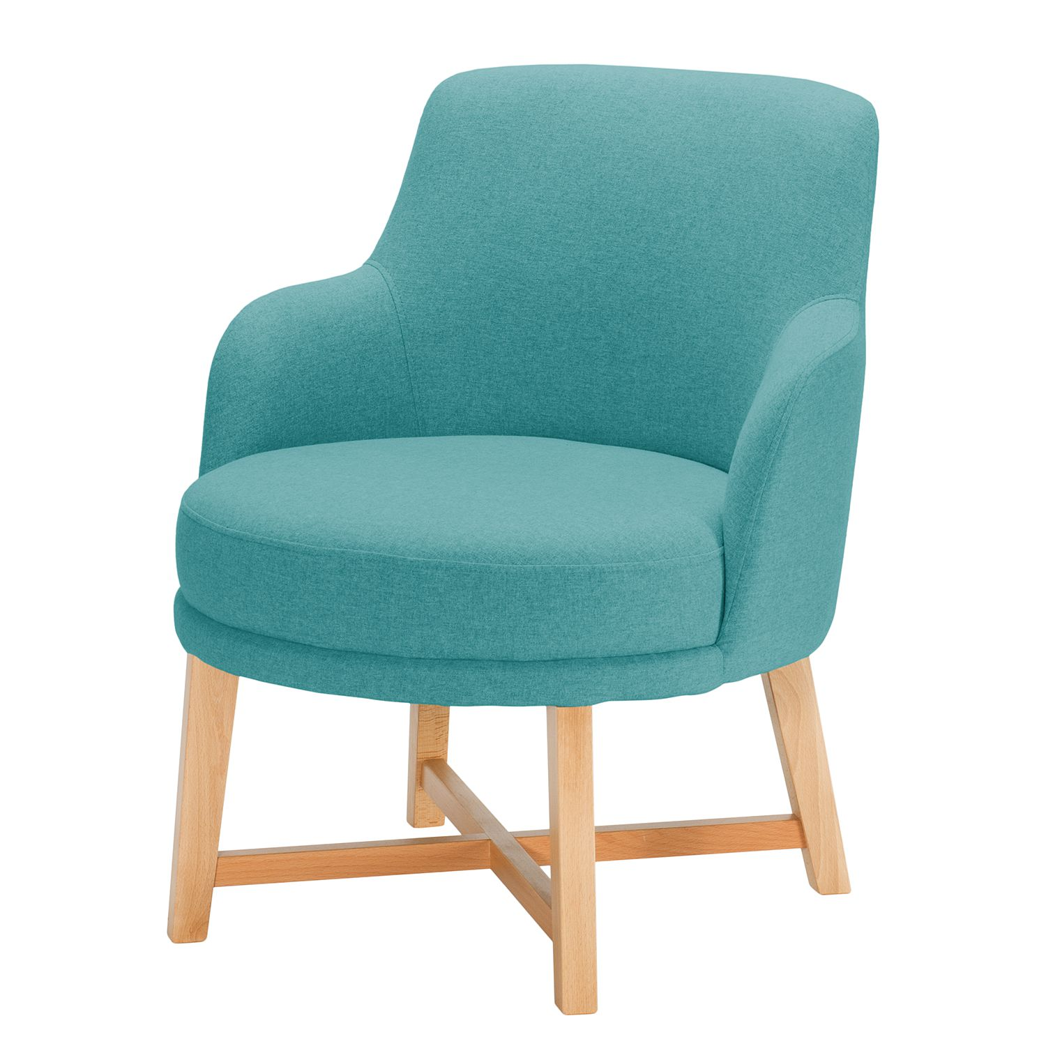 Fauteuil Siabu - Feutre - Turquoise, Morteens