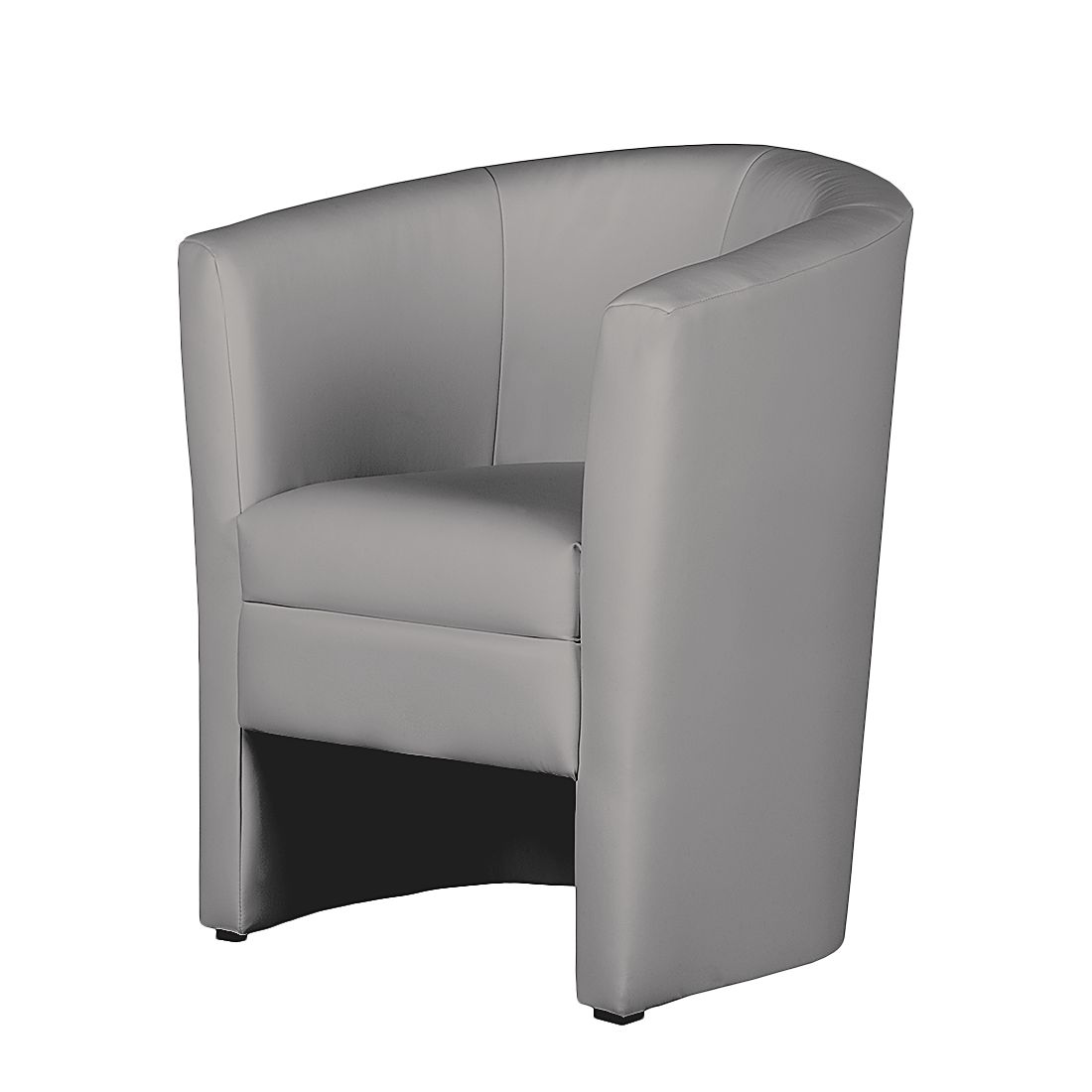 Fauteuil Sinclair IV - Cuir synthétique gris, mooved