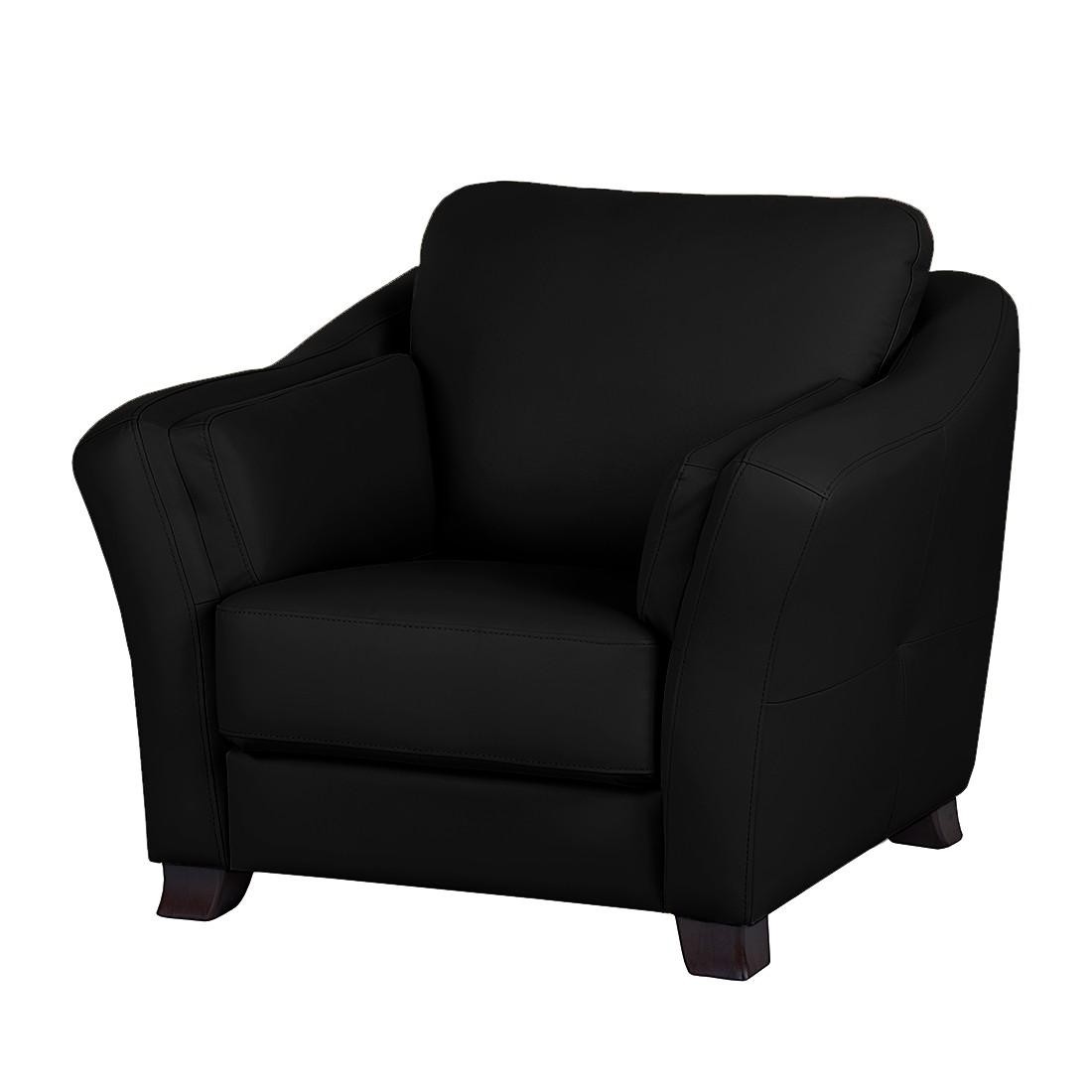 Alle bedrijven online fauteuil toucy zwart echt leer for E home24