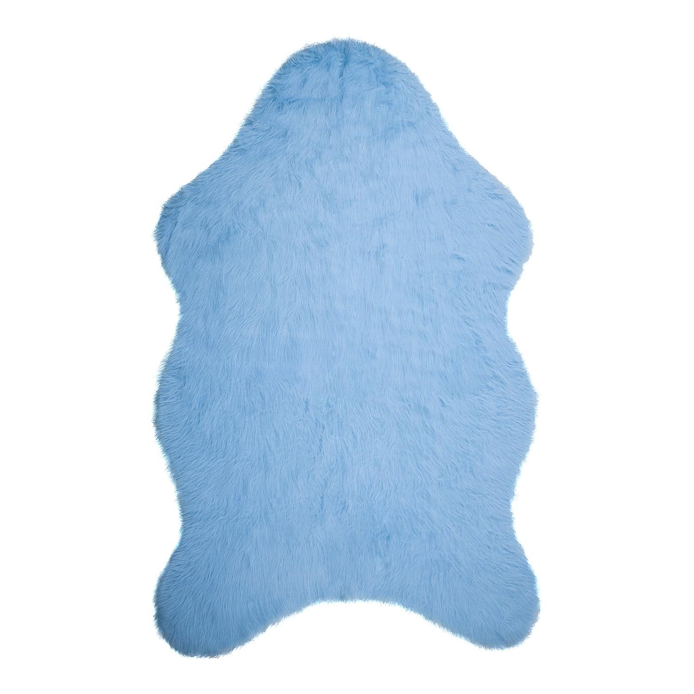 Vloerkleed Banyo - kunstvezels - Lichtblauw - 100x150cm, mooved
