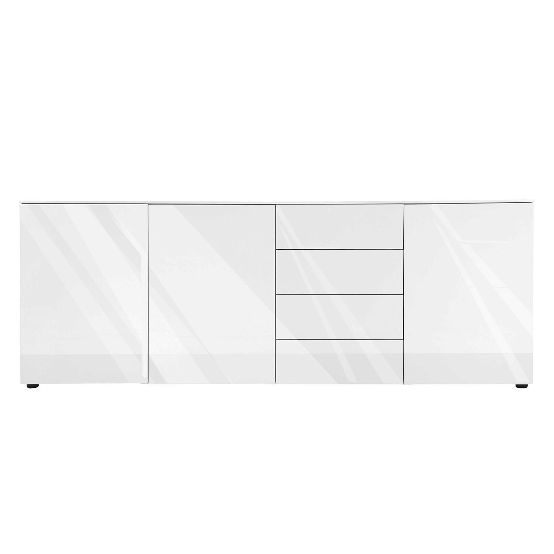 Sideboard Bianco - Hochglanz Weiß