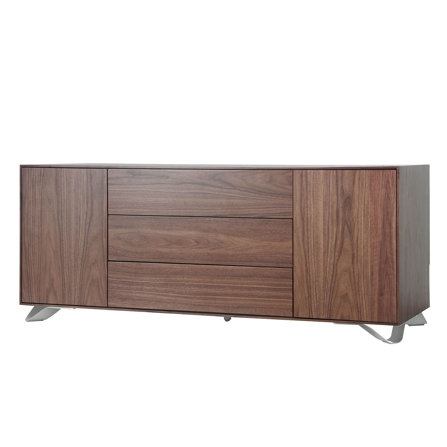 walnuss baltimore sideboard preisvergleich die besten angebote online kaufen. Black Bedroom Furniture Sets. Home Design Ideas