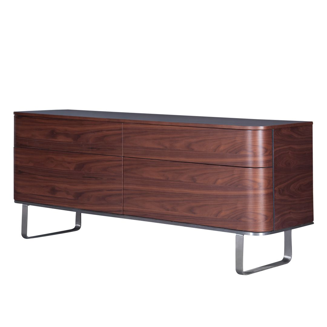 sideboard dalane walnuss g nstig bestellen. Black Bedroom Furniture Sets. Home Design Ideas