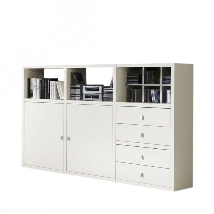 Home 24 - Buffet empire - blanc - tiroirs, fredriks
