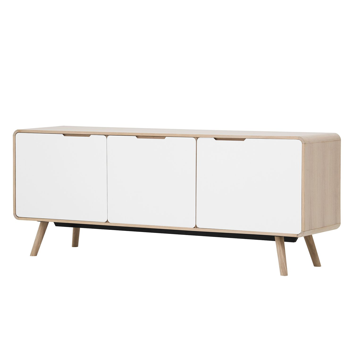 sideboard helvig ii eiche wei g nstig bestellen. Black Bedroom Furniture Sets. Home Design Ideas
