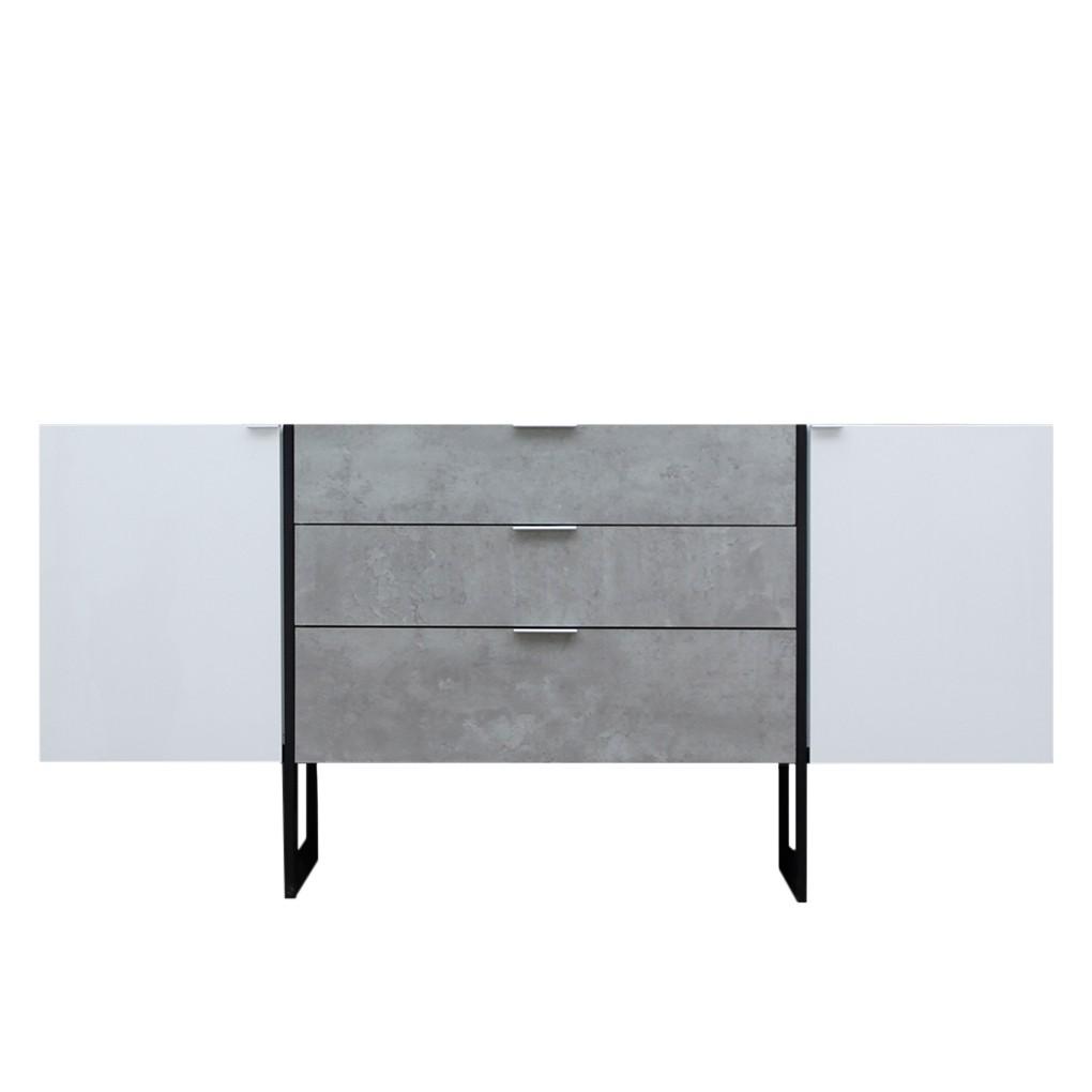 weiss hochgl nzend sideboard preisvergleich die besten. Black Bedroom Furniture Sets. Home Design Ideas
