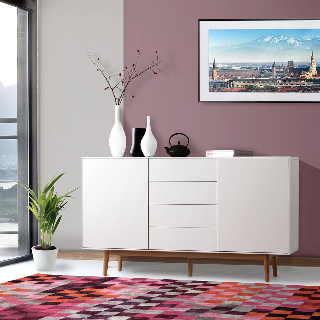 elegant gallery of great sideboard weiss with sideboard weiss with sideboard sonoma eiche wei with sideboard eiche wei with eiche wei