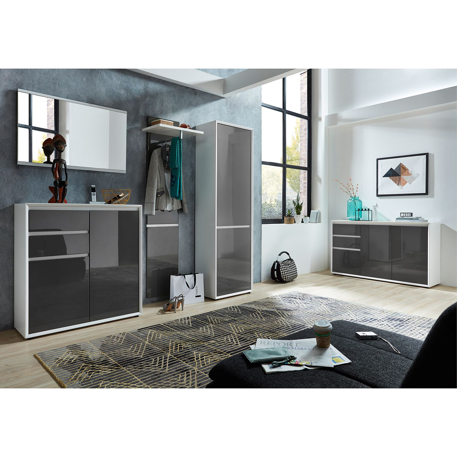 34 sparen schuhkommde maluti 100cm breit nur 214 99 cherry m bel home24. Black Bedroom Furniture Sets. Home Design Ideas