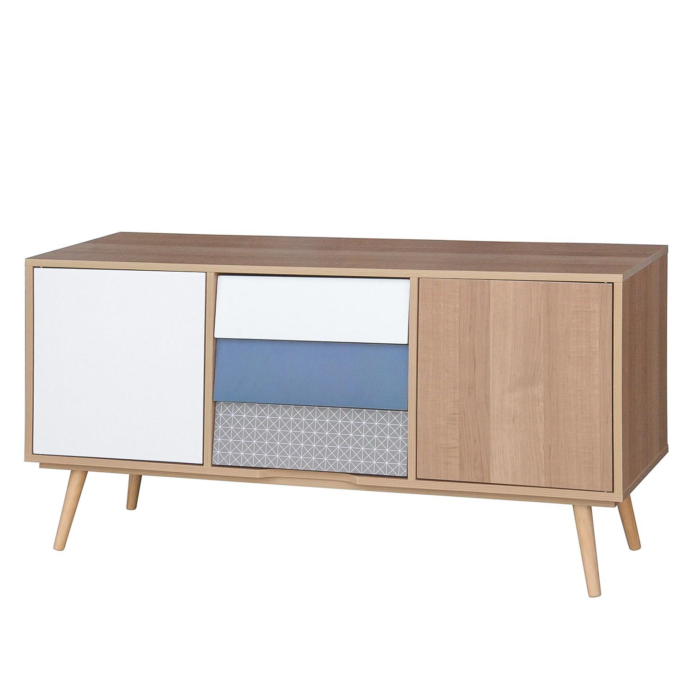 commode milbrock i partiellement en pin massif. Black Bedroom Furniture Sets. Home Design Ideas