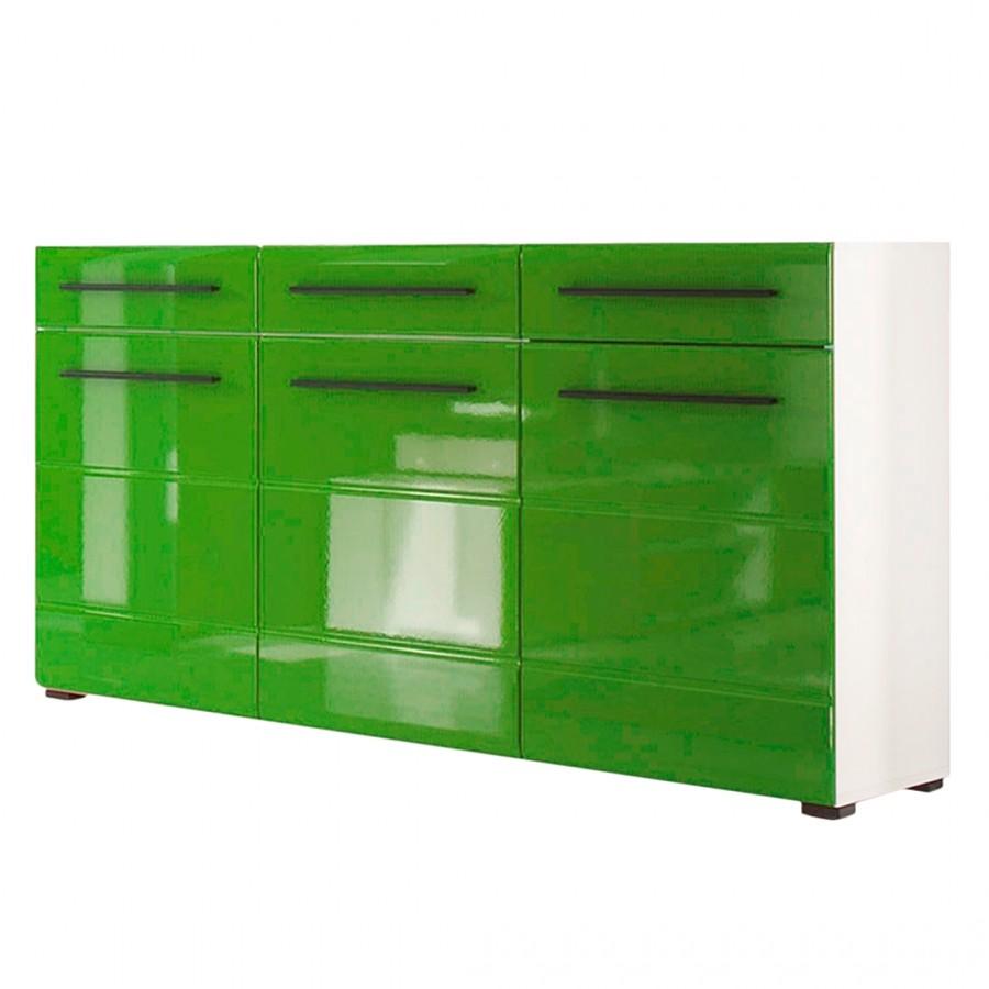 sideboard wei hochglanz preisvergleich die besten. Black Bedroom Furniture Sets. Home Design Ideas