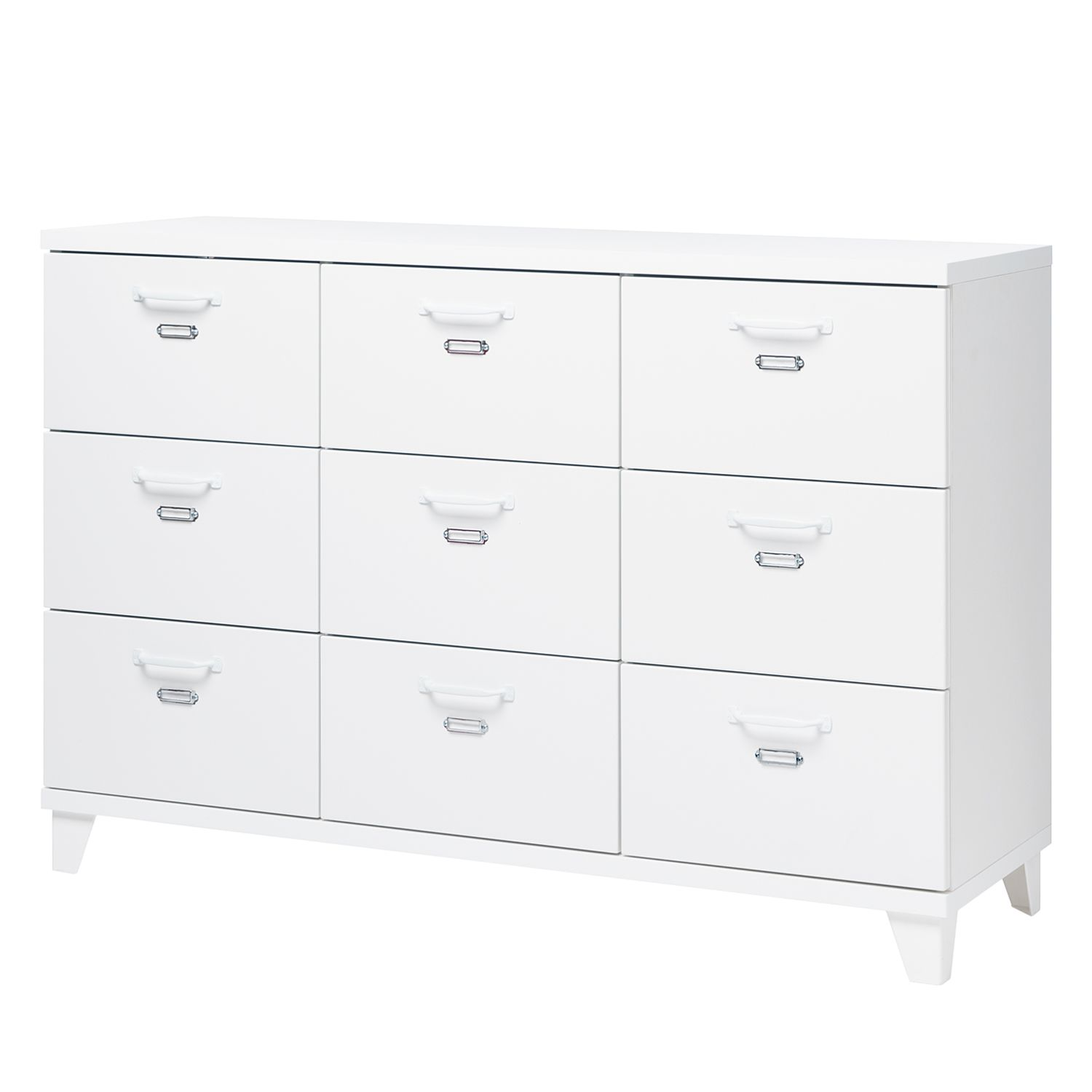Commode Ennis V - Blanc, mooved