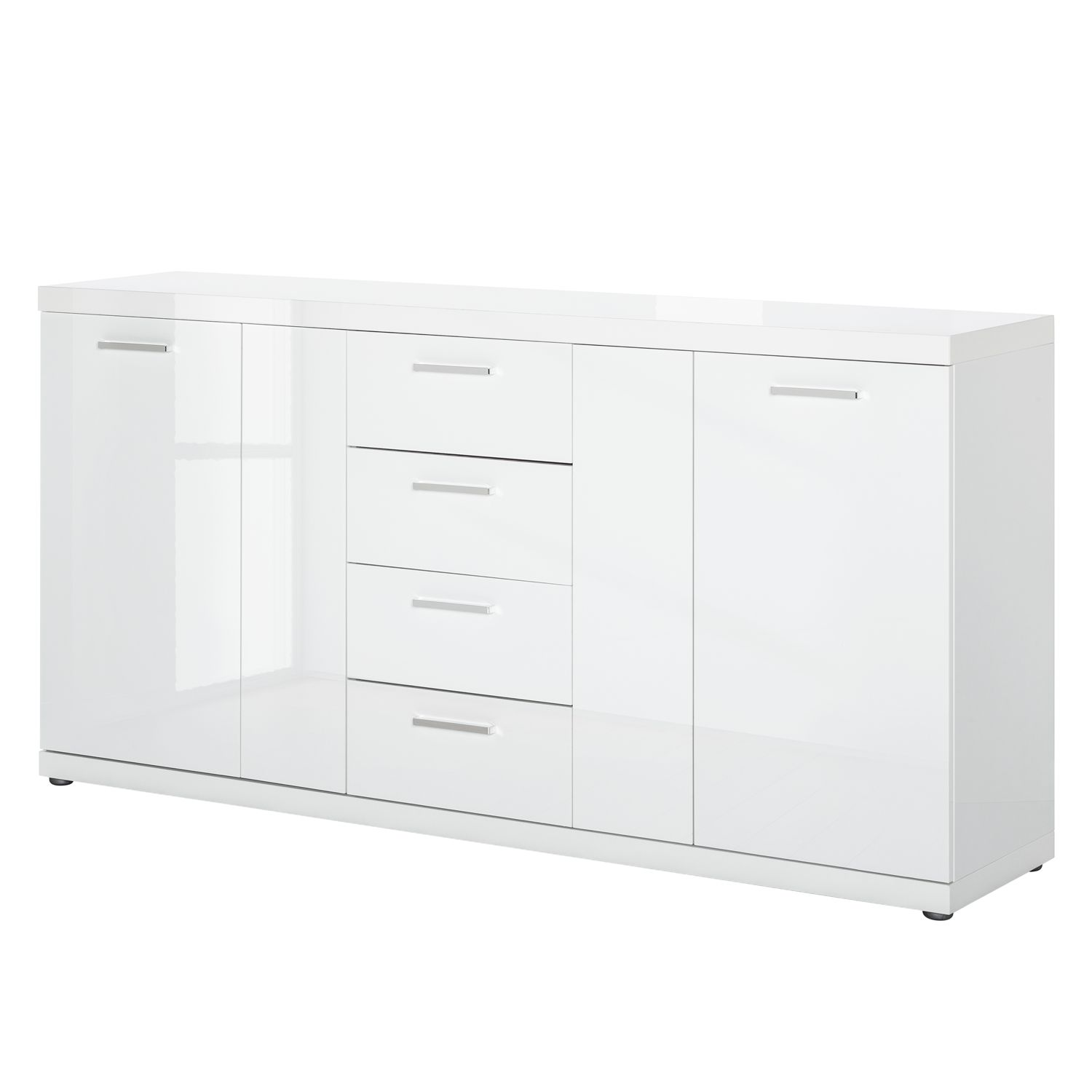 sideboard delray hochglanz wei loftscape g nstig schnell einkaufen. Black Bedroom Furniture Sets. Home Design Ideas