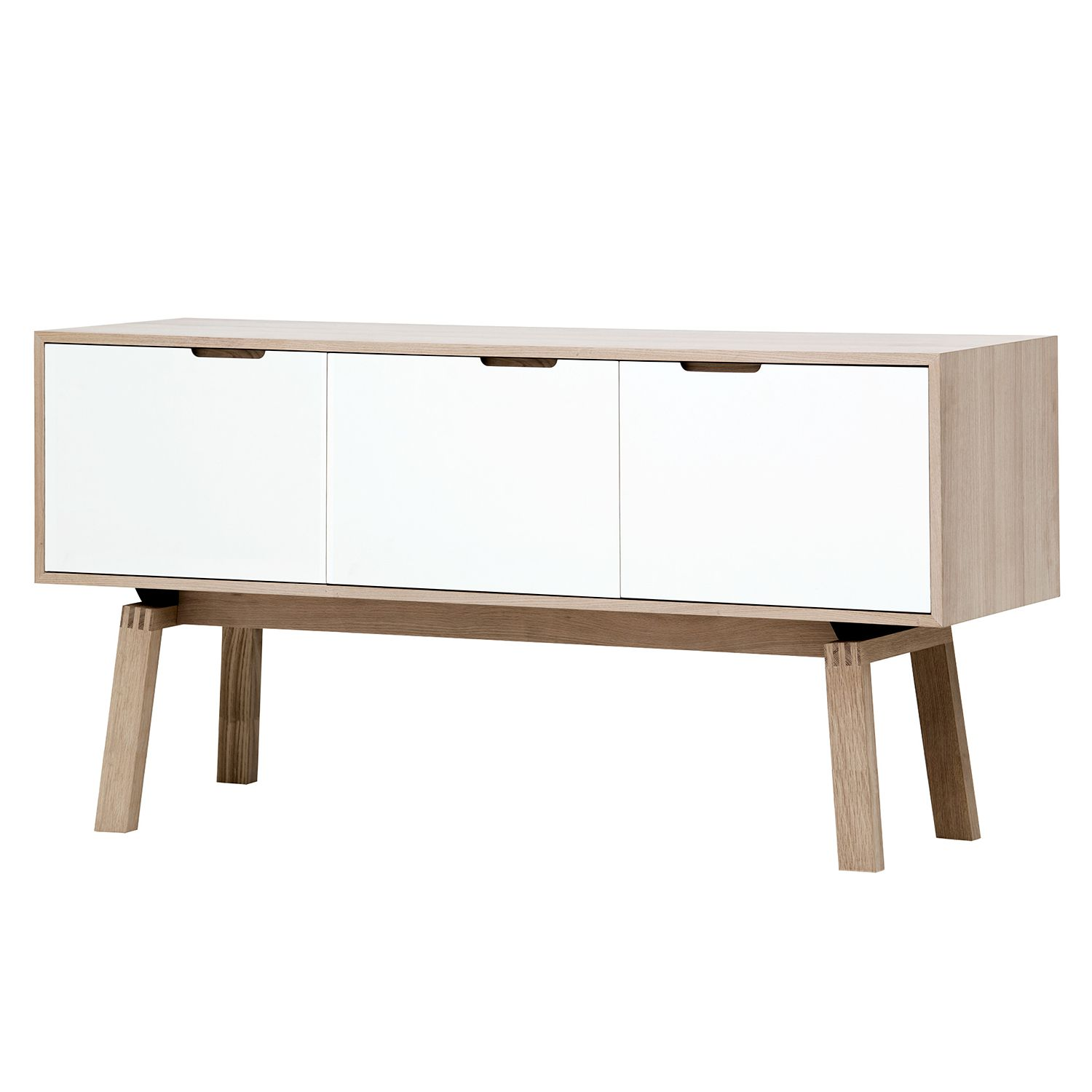 sideboard stig ii wei 80 cm online bestellen. Black Bedroom Furniture Sets. Home Design Ideas