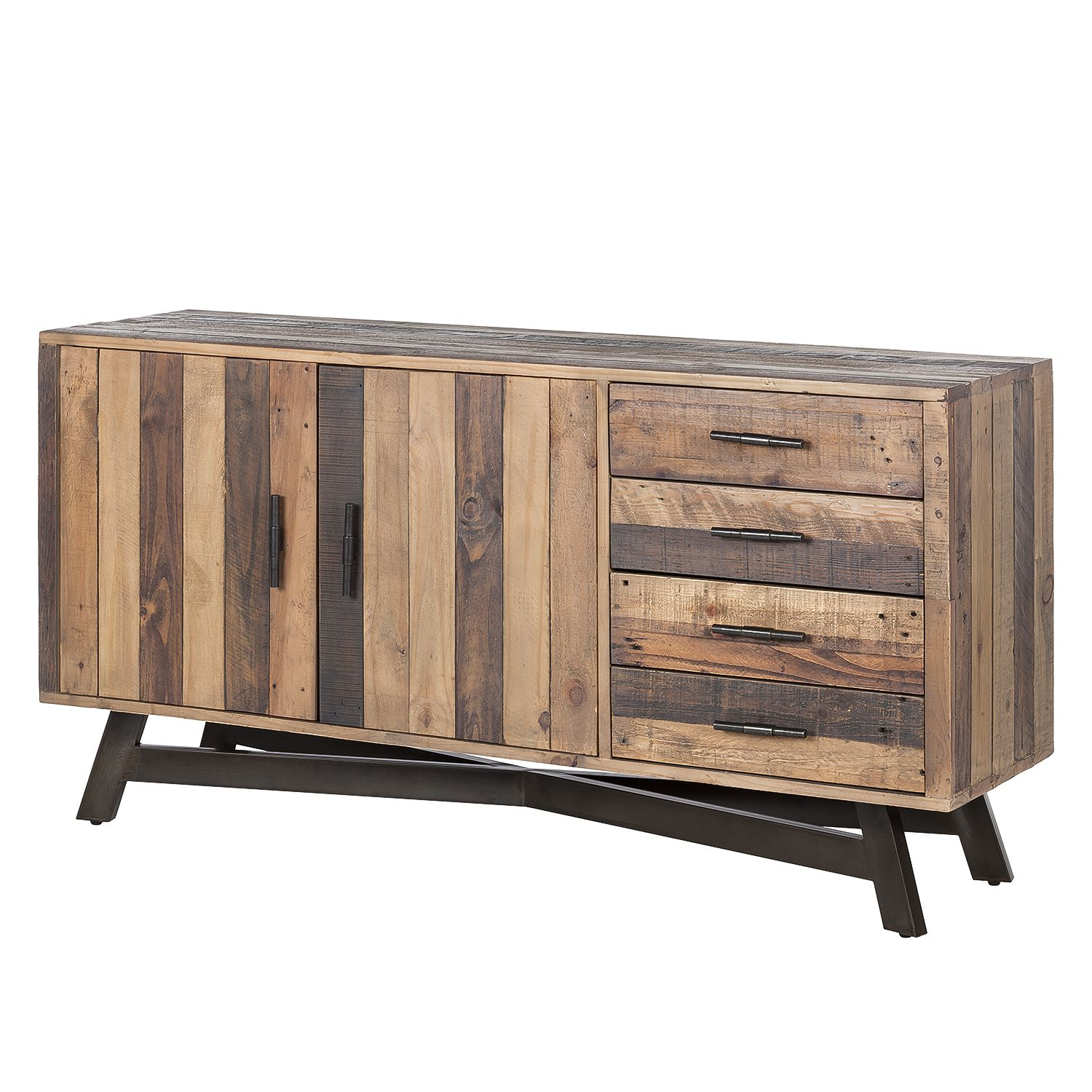 sideboard tamati pinie massiv jetzt kaufen. Black Bedroom Furniture Sets. Home Design Ideas