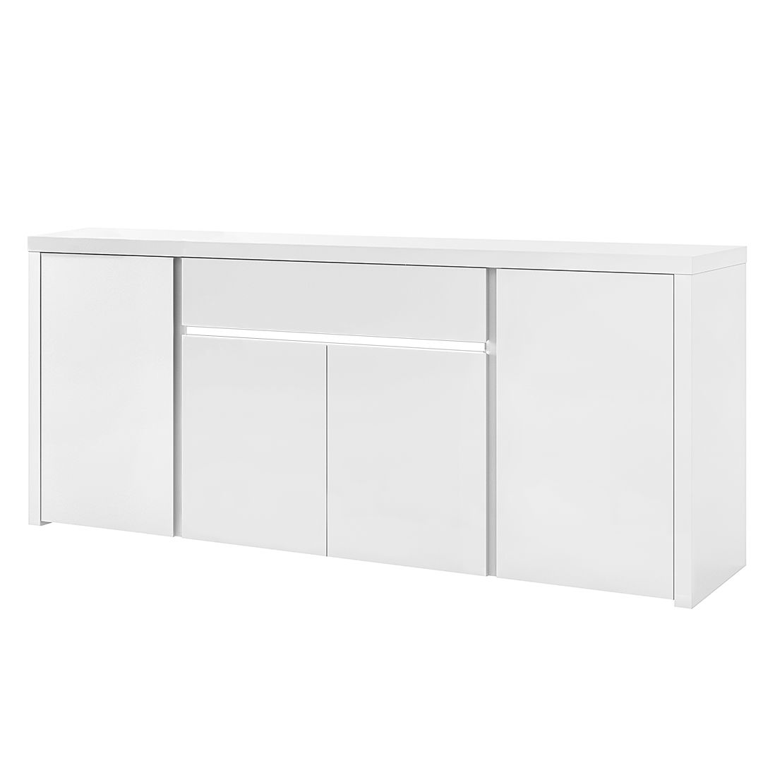 sideboard weiss 200 cm preisvergleiche. Black Bedroom Furniture Sets. Home Design Ideas