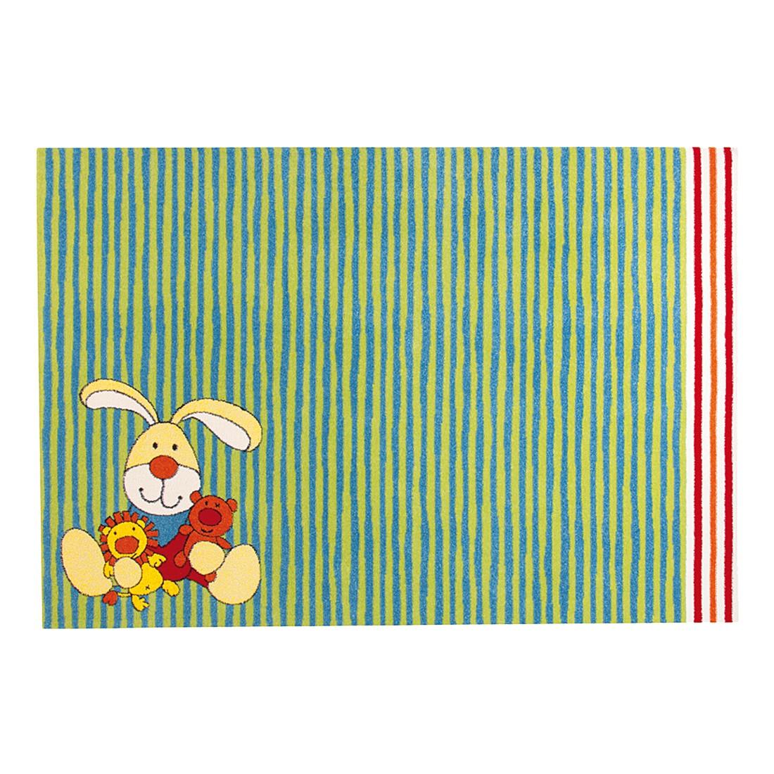 Kinderteppich Semmel Bunny - Grün - 80 x 150 cm, Sigikid