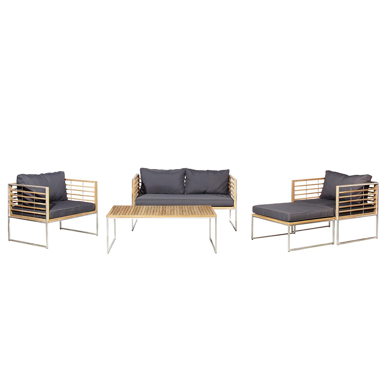 35 sparen gartenm bel set teakline exklusiv iii nur cherry m bel home24. Black Bedroom Furniture Sets. Home Design Ideas
