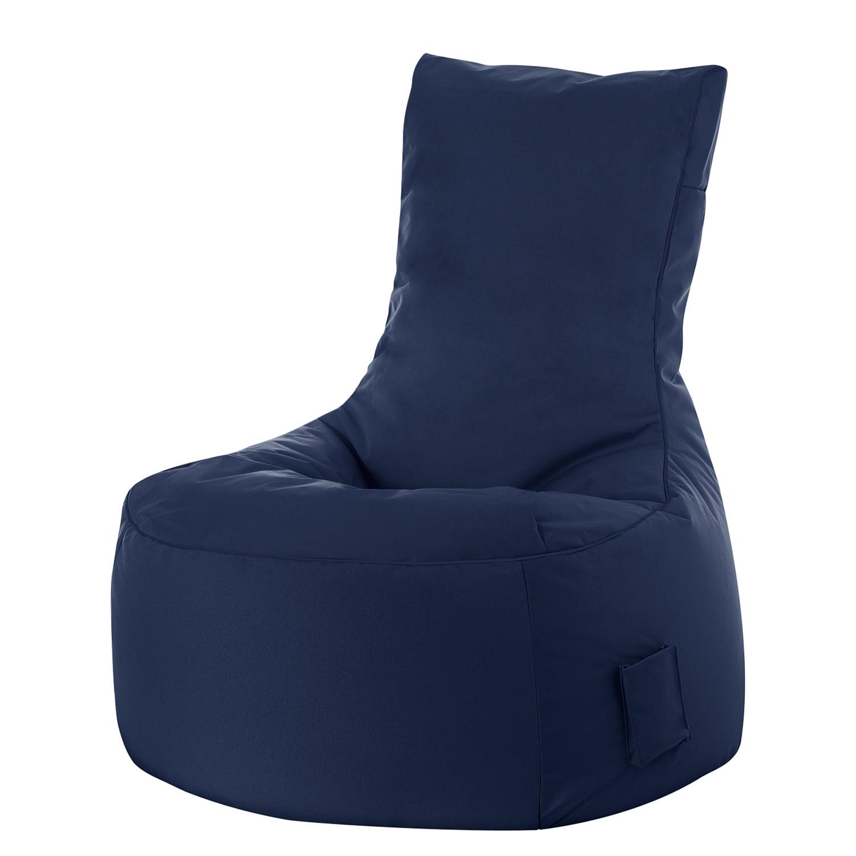Sitzsack Swing Scuba - Flachgewebe - Jeansblau, SITTING POINT