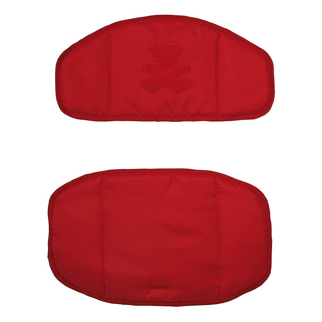 Home 24 - Coussin réducteur de siège bärchen (2 éléments) - rouge, roba