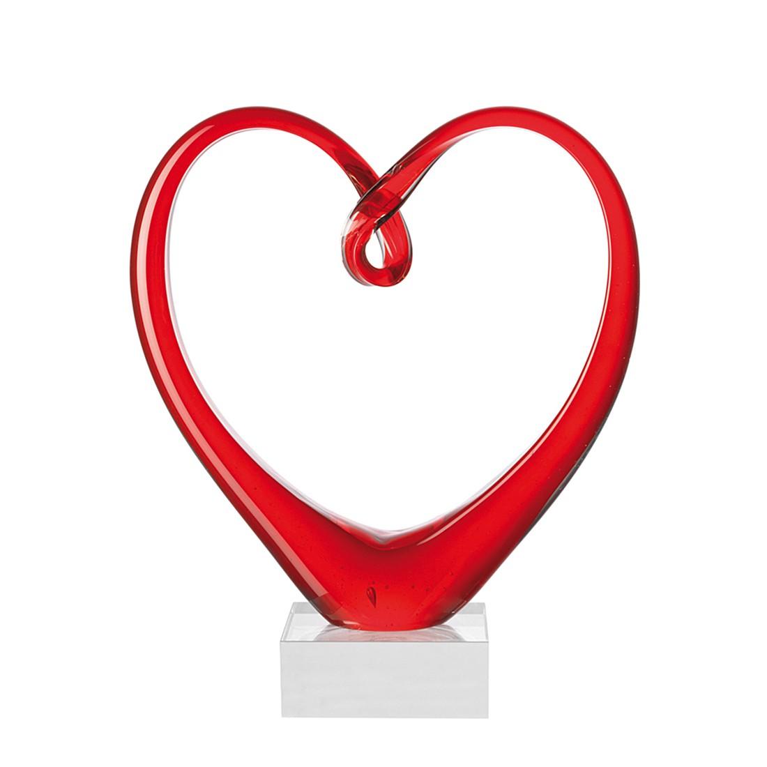 Sculptuur Heart - rood, Leonardo