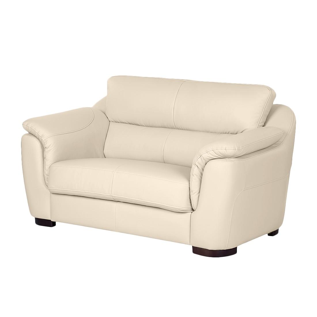 sofa alzira 2 sitzer echtleder beige nuovoform. Black Bedroom Furniture Sets. Home Design Ideas