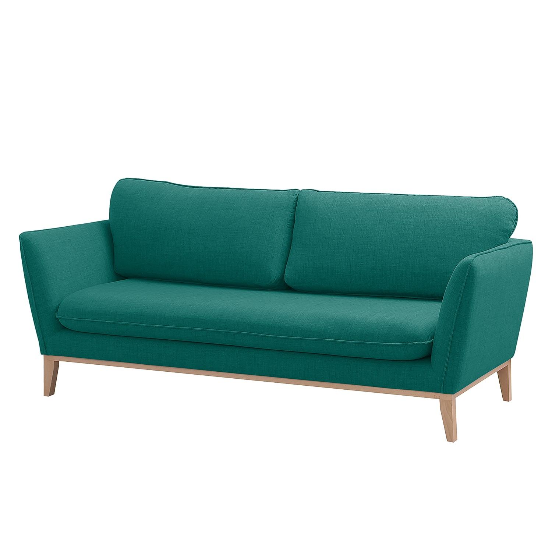 Sofa Argoon (3-Sitzer) Webstoff - Petrol