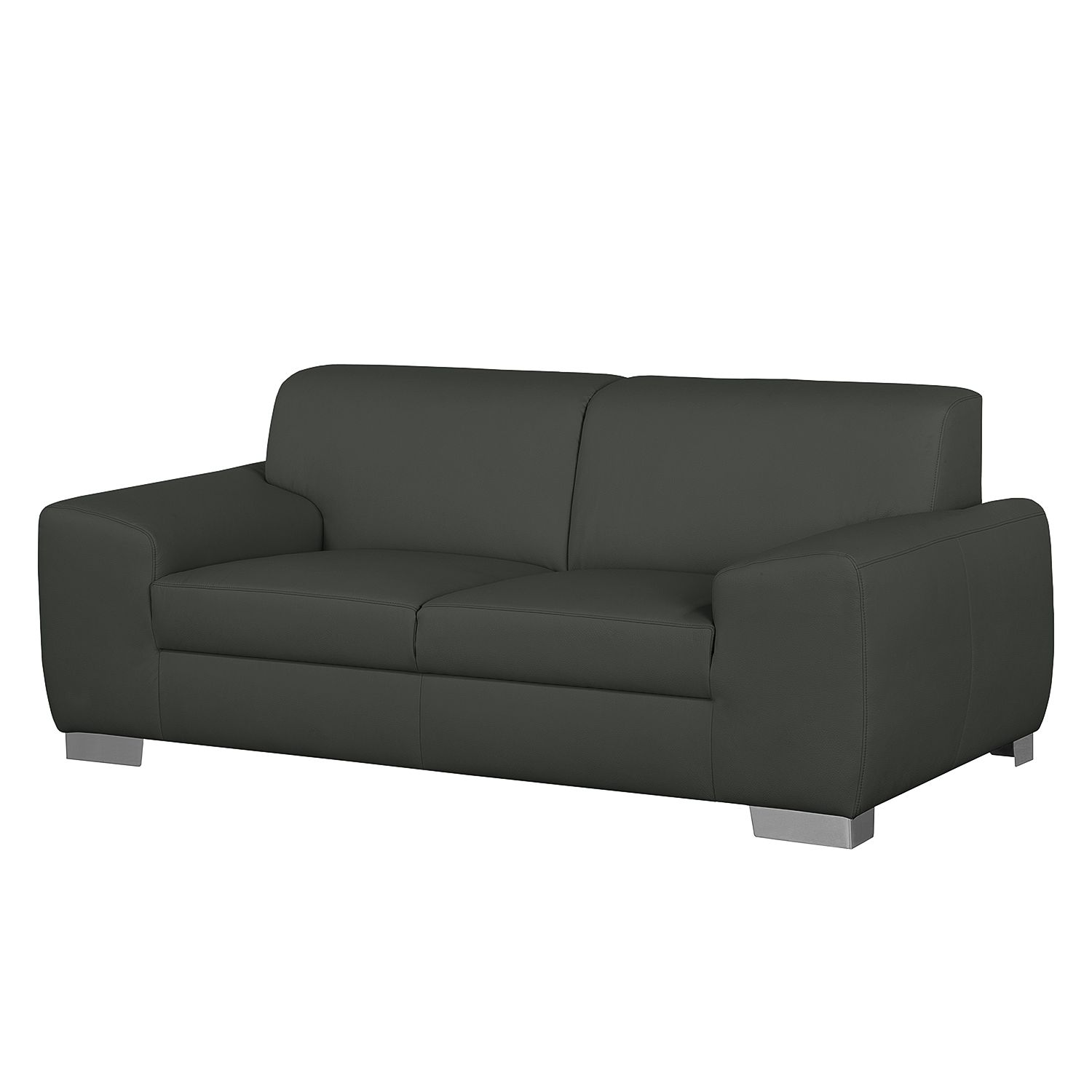 sofa bollon 2 sitzer kunstleder dunkelgrau fredriks bestellen. Black Bedroom Furniture Sets. Home Design Ideas
