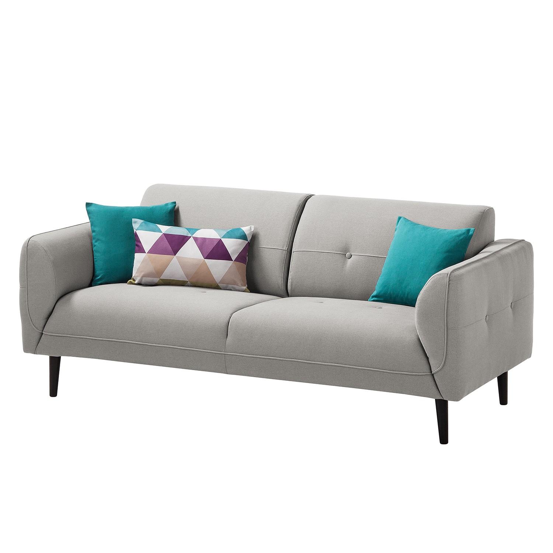 Sofa Cala 25 Sitzer Strukturstoff Schwarz Stoff Osta