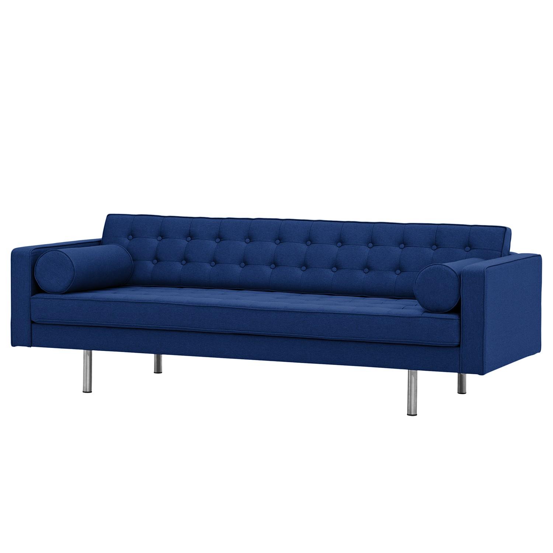 sofa chelsea 3 sitzer webstoff runder fu stoff. Black Bedroom Furniture Sets. Home Design Ideas