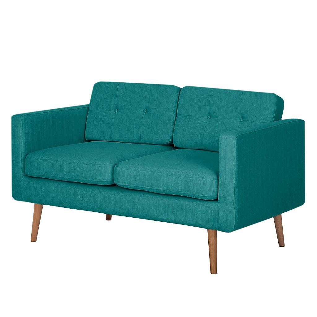 Canapé Croom (2 places) - Textile - Turquoise, Morteens