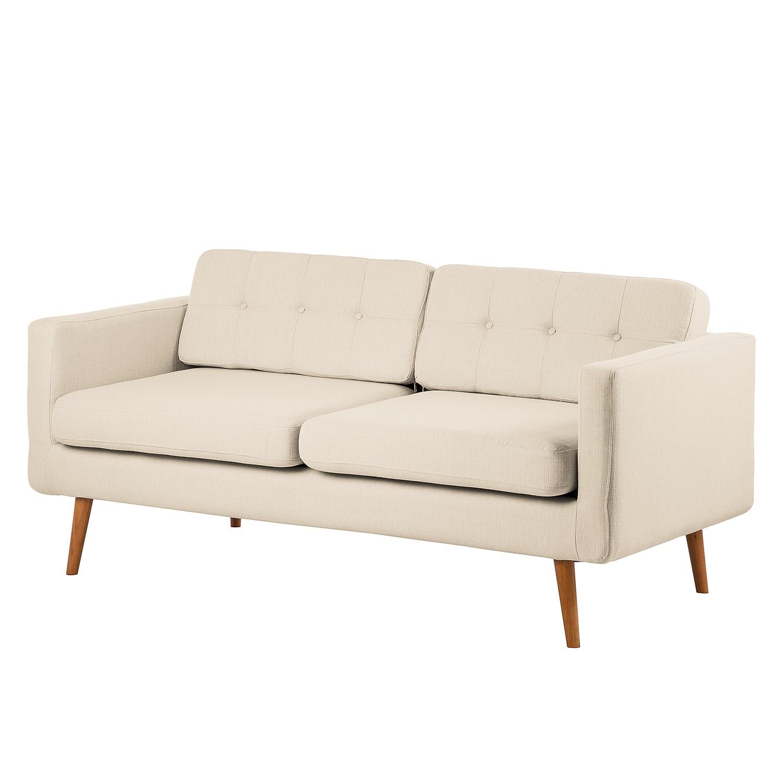 Canapé Croom (3 places) - Textile - Beige, Morteens
