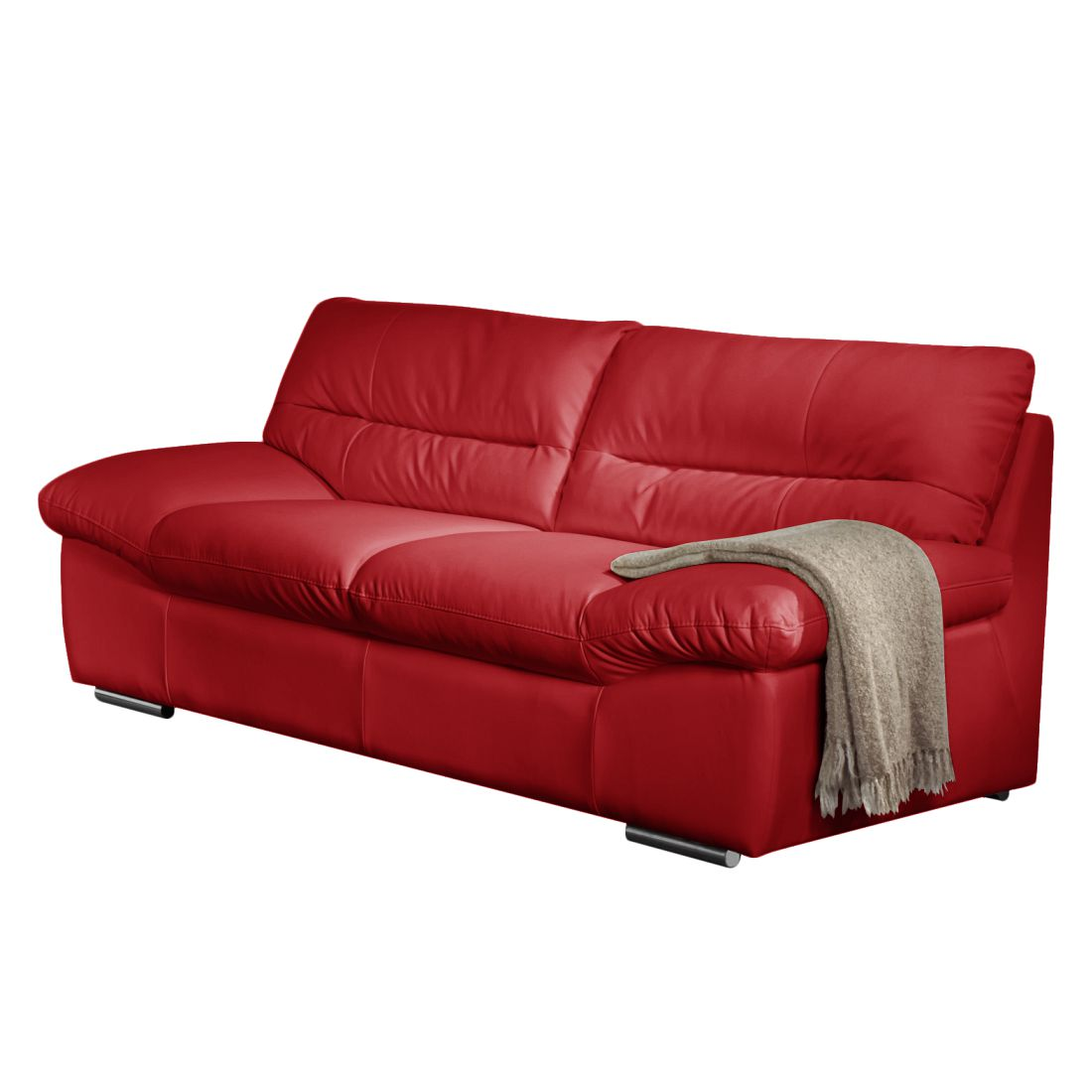 sofa doug 2 sitzer echtleder rot cotta g nstig bestellen. Black Bedroom Furniture Sets. Home Design Ideas