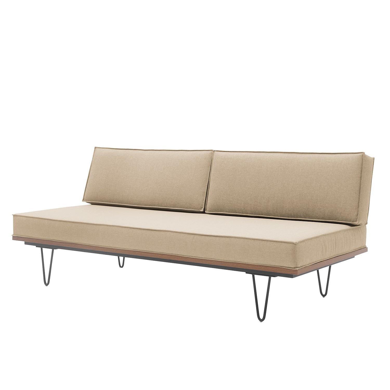 Sofa Elphin (2-Sitzer) Webstoff - Beige