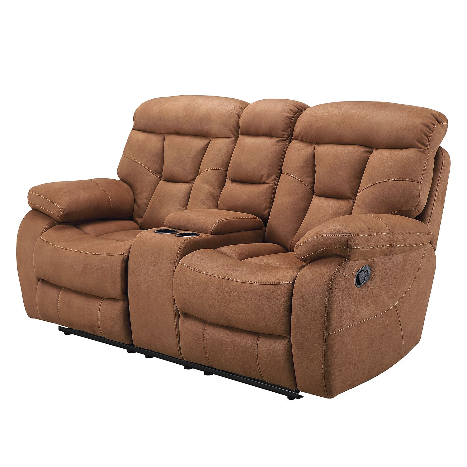 Fesselnde Couch Mit Relaxfunktion Beste Wahl Sofa Hankey (2-sitzer Relaxfunktion) - Microfaser -