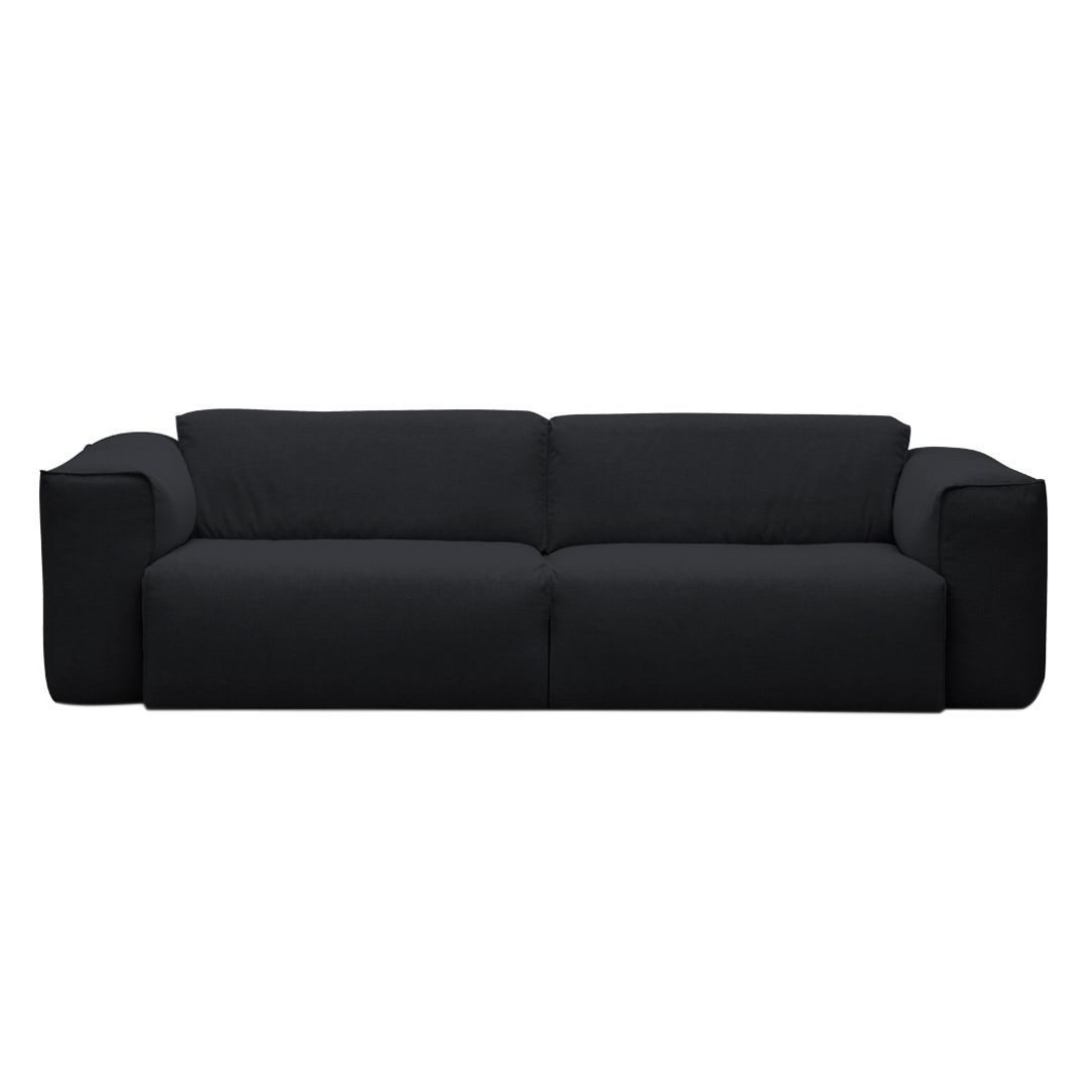 sofa hudson ii 3 sitzer webstoff stoff saia anthrazit studio copenhagen g nstig. Black Bedroom Furniture Sets. Home Design Ideas