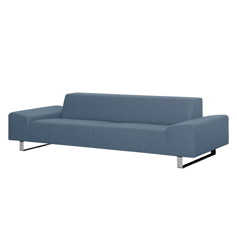 Sofa Kato (2,5-Sitzer) - Webstoff - Stoff Felia II Hellblau