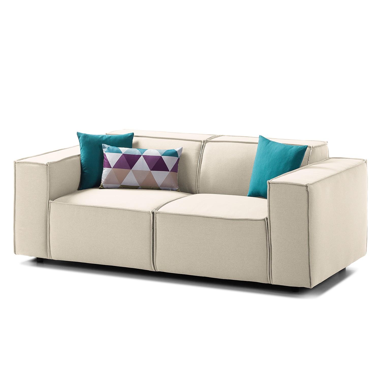 Sofa Kinx (2-Sitzer) Webstoff - Stoff Osta Altweiß Sale Angebote Kathlow