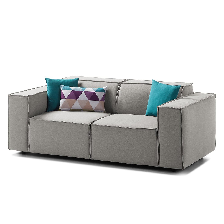 sofa grau stoff simple grau mit holztextil with sofa grau stoff sofa cotta speedway mit grau. Black Bedroom Furniture Sets. Home Design Ideas