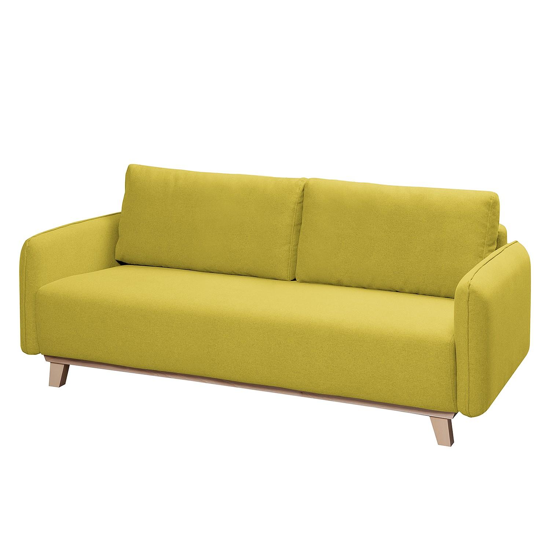 Sofa Mertyn (2,5-Sitzer) Webstoff - Lemon
