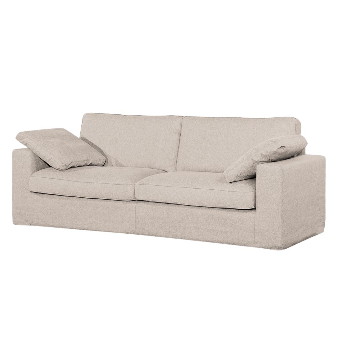 Canapé Moore (2,5 places) - Tissu - Tissu Valura Beige, loftscape