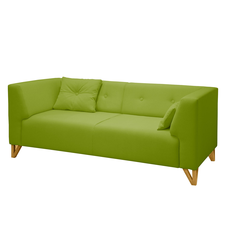 canap ongar ii 2 places tissu sans repose pieds vert pistache morteens meubles en ligne. Black Bedroom Furniture Sets. Home Design Ideas