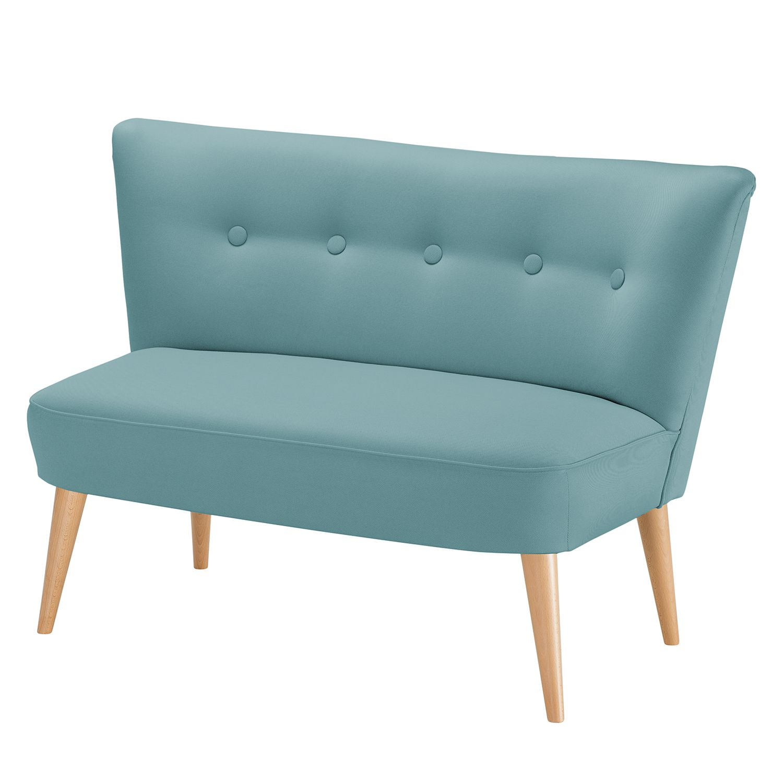 Canapé Panti (2 places) - Tissu - Turquoise, Morteens