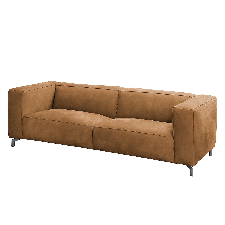 Sofa Pentre (3-Sitzer) Echtleder - Hellbraun