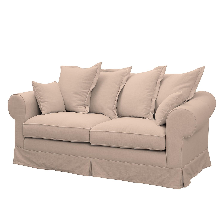 Sofa Saltum (2,5-Sitzer) Webstoff - Rosa
