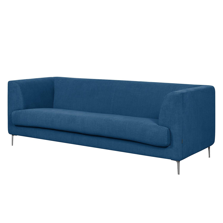 Sofa Sombret (2,5-Sitzer) - Webstoff - Blau