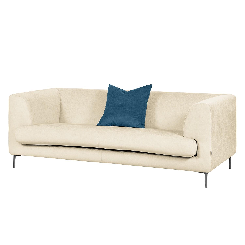 Sofa Sombret (2,5-Sitzer) - Webstoff - Creme