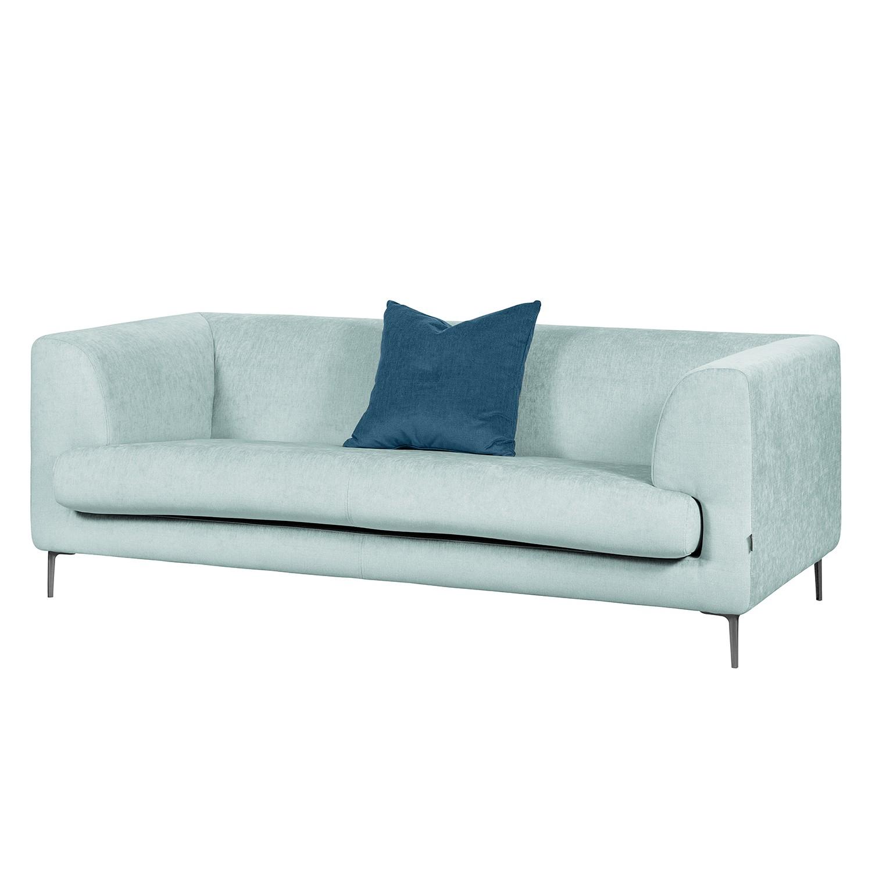 Canapé Sombret (2,5 places) - Tissu - Bleu clair, Says Who