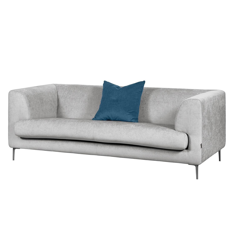 Sofa Sombret (2,5-Sitzer) - Webstoff - Silber